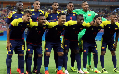 Colombia rescató un empate ante Suecia