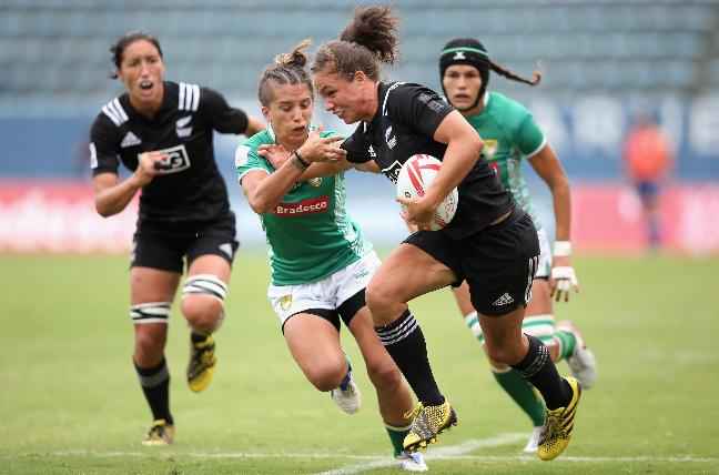 El equipo de Nueva Zelanda es uno de los claros favoritos para conseguir el oro en el rugby siete femenino. (Foto: Getty Images / Friedemann Vogel)