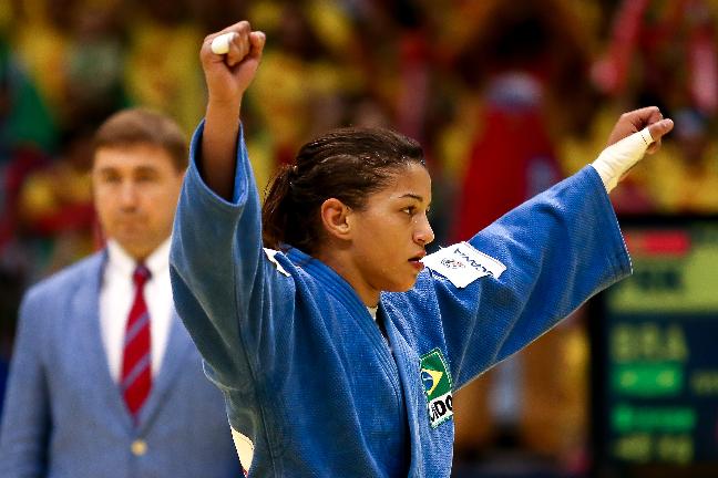 Sarah Menezes deberá enfrentarse a las mejores judokas del mundo para revalidar su oro Olímpico. (Foto: Getty Images / Buda Mendes)