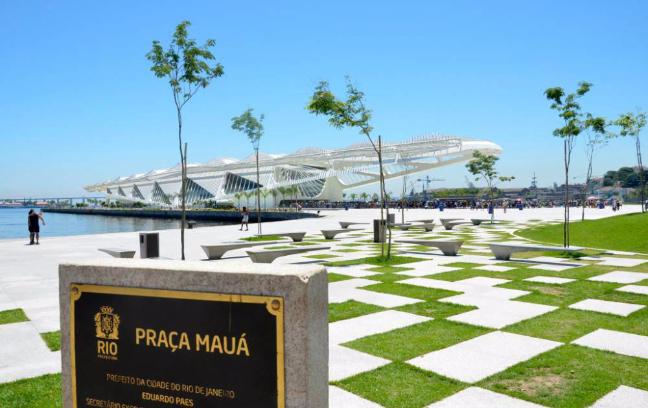 Para sumergirse en el espíritu Olímpico no hay mejor lugar que el Bulevar. (Getty Images/ Mario Tama)
