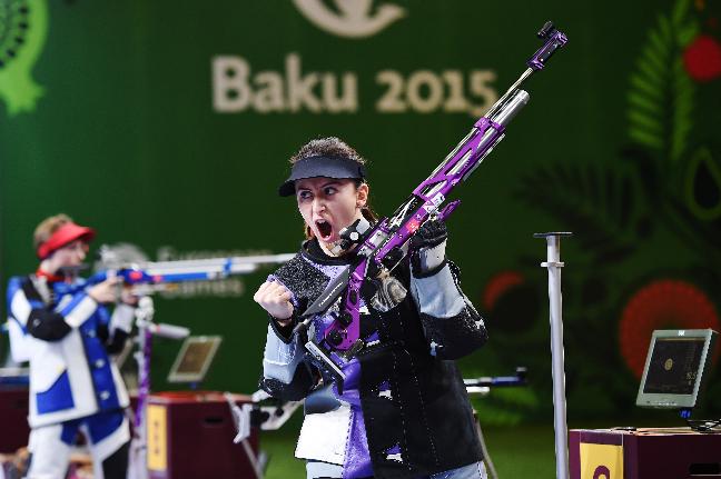 La serbia Andrea Arsovic es una de las más firmes candidatas a conseguir el primer oro de los Juegos (Foto: Getty Images/Matthias Hangst)