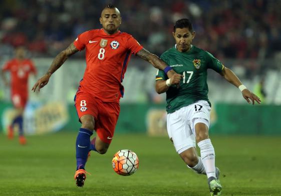 Chile no pudo con Bolivia y no pasaron del empate sin goles