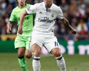 James Rodriguez: 15 minutos y un pase gol; fotos de su actuación
