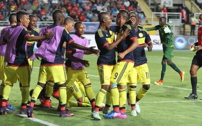 Así remontó Colombia para vencer a Ecuador en el arranque del Sub 17