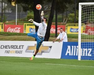 Colombia ya entrena en Bogotá con miras el juego contra Ecuador