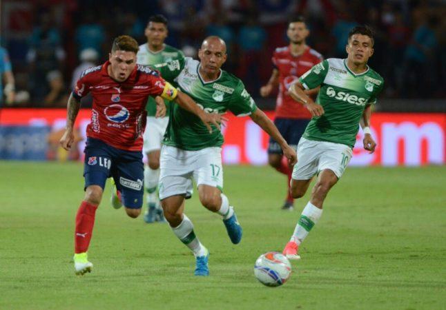 Deportivo Cali empató con Medellín en la ida de las Semifinales de Copa Águila