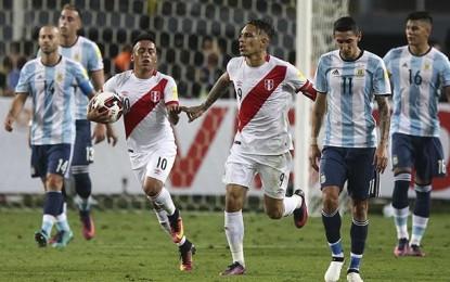 PREVIA: ARGENTINA VS PERÚ. PARTIDAZO Y ESCENARIOS PARA IR A RUSIA 2018