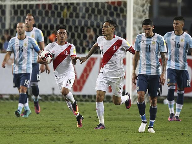 Último partido: Perú 2 - Argentina 2 en el Estadio Nacional de Lima