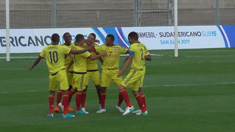 La Selección Colombia sub 15 venció a Paraguay para sumar primera victoria en el Sudamericano