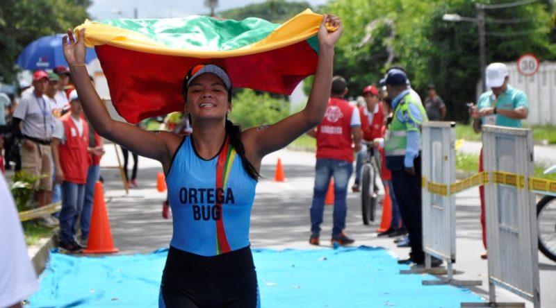 Buga fue protagonista en el inicio del triatlón en los Juegos Departamentales