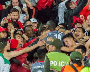 En imágenes la victoria de América ante Millonarios