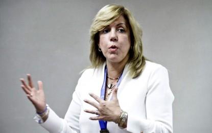 """""""Necesitamos el Ministerio del Deporte"""" Clara Luz Roldán, Directora de Coldeportes"""