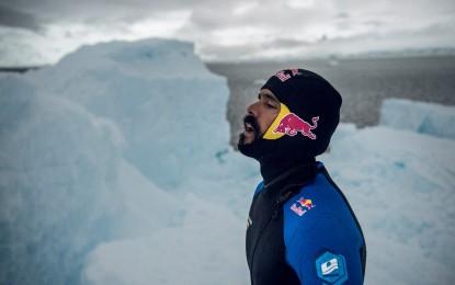 Orlando Duque conquista el Antártida con saltos