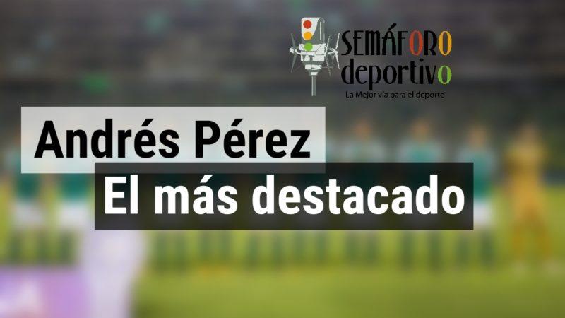 Andrés Pérez el más destacado