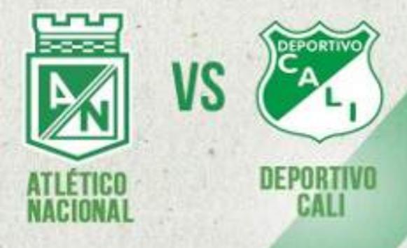 Deportivo Cali vs Nacional: Historial de los enfrentamientos en Eliminación directa