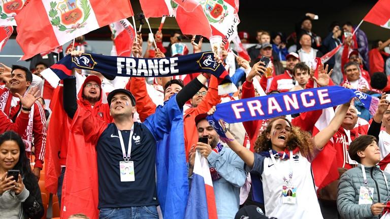 Francia vs Perú por la última oportunidad