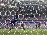Asi fueron los goles de Dinamarca y Australia para el empate parcial