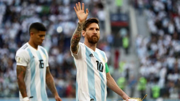 El gol de Messi para Argentina