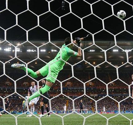 Croacia con este gol le gana a Islandia