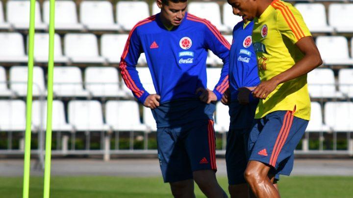 Selección Colombia volvió a entrenarse tras la derrota con Japón