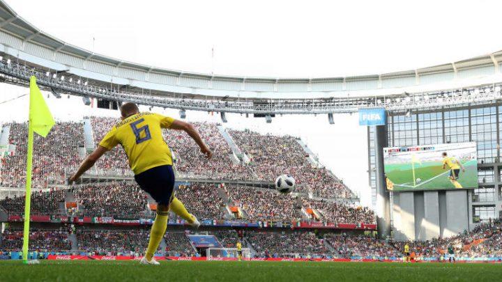 Los goles con que Suecia está eliminando a Alemania
