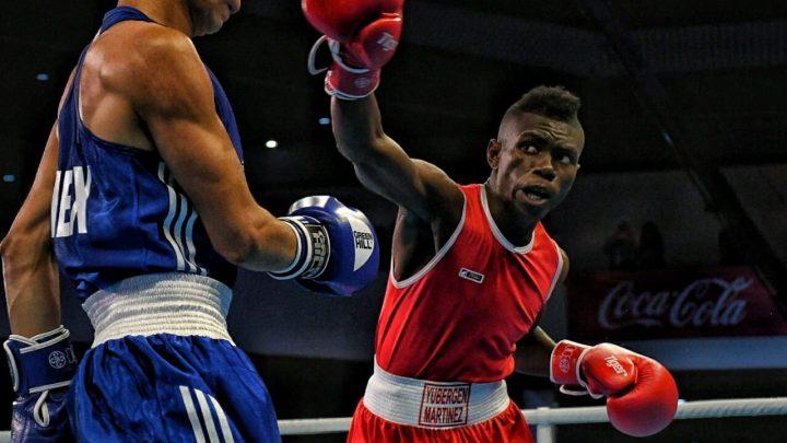 Yuberjen Martínez oro en Boxeo de los Centroamericanos