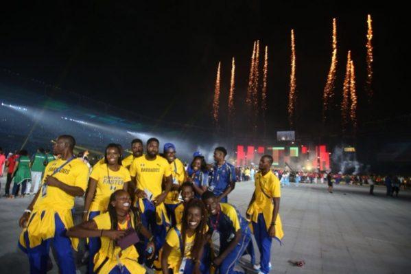 Barranquilla apagó el Fuego Centroamericano, con el deber cumplido, Fotos de la ceremonia final
