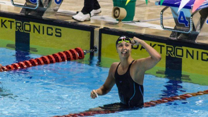 Isabella Arcila reina de la natación de los Juegos Centroamericanos y del Caribe