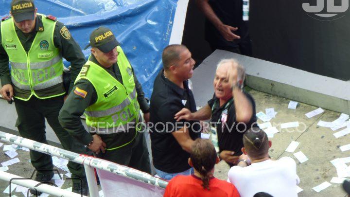 Fernando Castro fue sancionado por la comisión arbitral