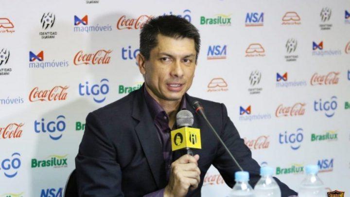 """""""Deportivo Cali es un club importante del Fútbol Colombiano"""" Gustavo Florentín director técnico del Guaraní"""