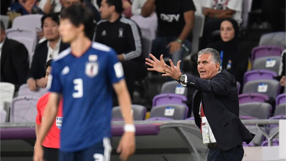 Carlos Queiroz, eliminado con Irán de la Copa de Asia y tiene despejado el camino hacia la Selección Colombia