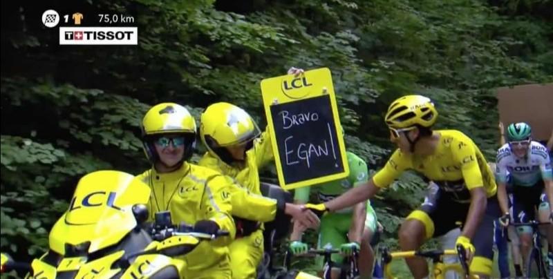 Egan Bernal es el campeón del Tour de Francia 2019