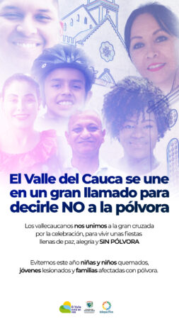 El Valle del Cauca dice No a la Pólvora