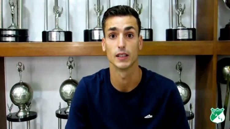 Dinenno se despidió de los hinchas del Deportivo Cali a través de este emotivo video