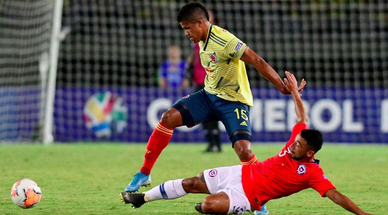 Selección Colombia, a la fase final del Preolímpico tras partido con Chile