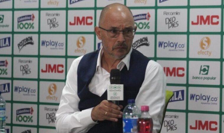 """""""Creo que si alguien merecía ganar eramos nosotros"""": Alfredo Arias técnico del Deportivo Cali"""