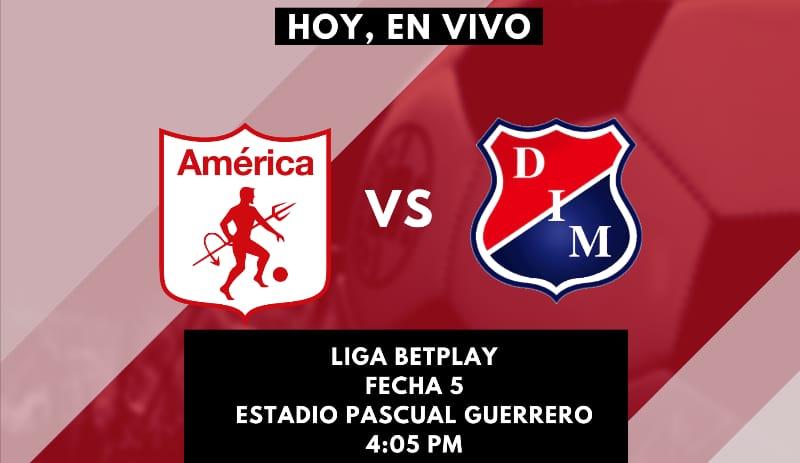 América de Cali vs Independiente Medellín: En vivo y en directo