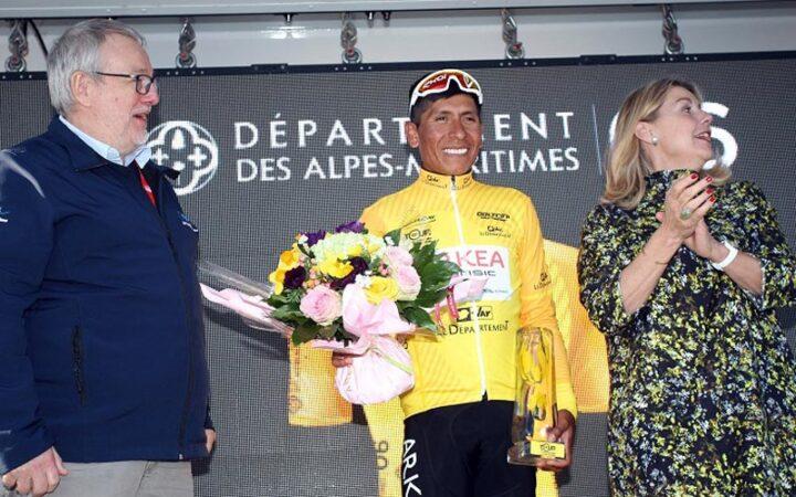 Nairo Quintana se coronó ganador del tour de VAR
