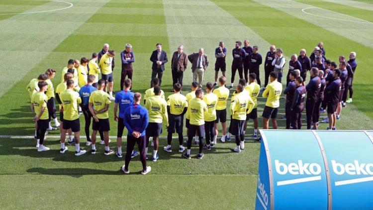 Por Coronavirus, Messi y todo el plantel del Barcelona a cuarentena