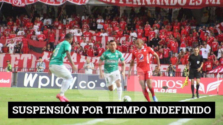 Dimayor suspendió todos los torneos de fútbol colombiano