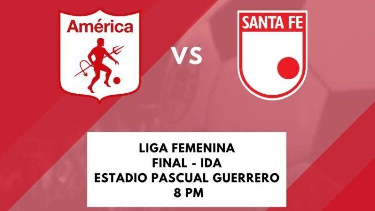 En vivo: América vs. Santa Fe por la final de la Liga Femenina