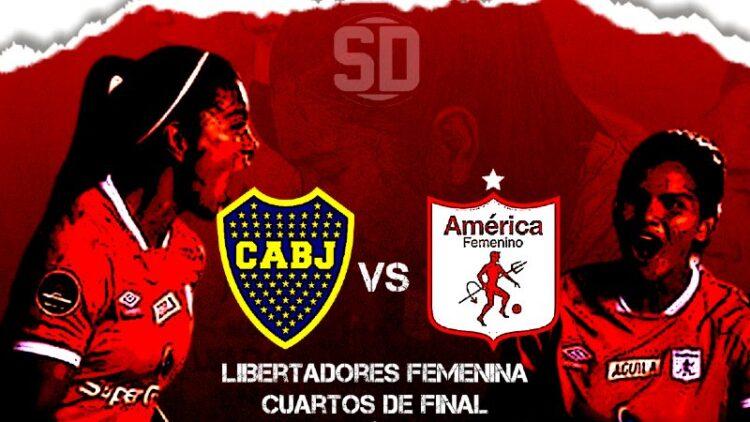 Boca Juniors vs América Femenino en vivo y en directo por los cuartos de final de la Copa Libertadores Femenina