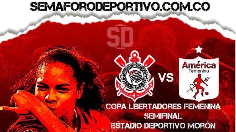 Corinthians vs América Femenino en vivo y en directo por la Copa Libertadores Femenina