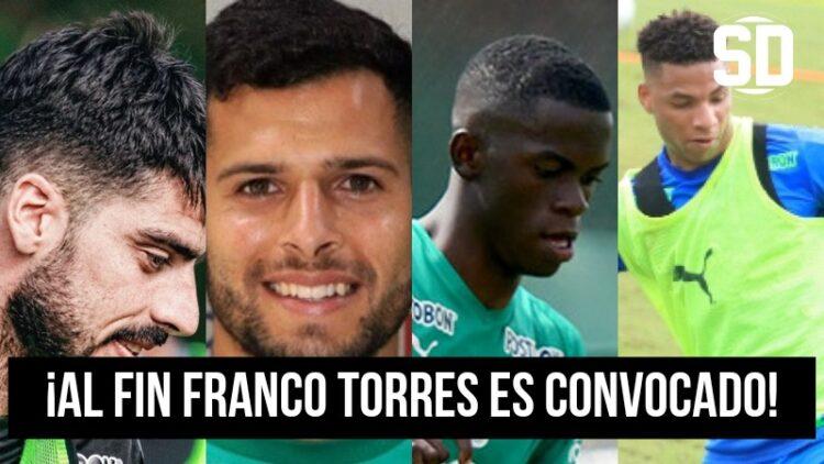 Deportivo Cali dio a conocer su lista de convocados para el juego de ida de la primera fase de la Copa Sudamericana ante el Tolima