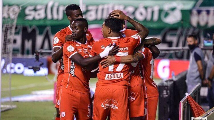 América de Cali el grupo de la Copa Libertadores en el 2021