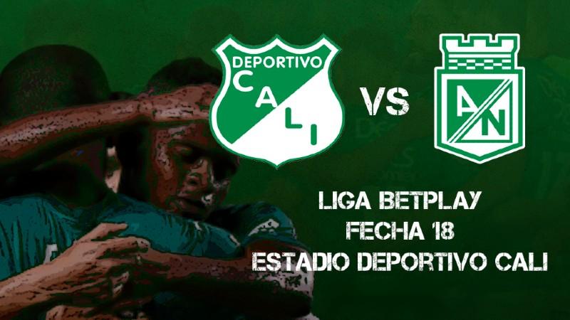 Deportivo Cali vs Atlético Nacional en vivo y en directo por la Liga Betplay