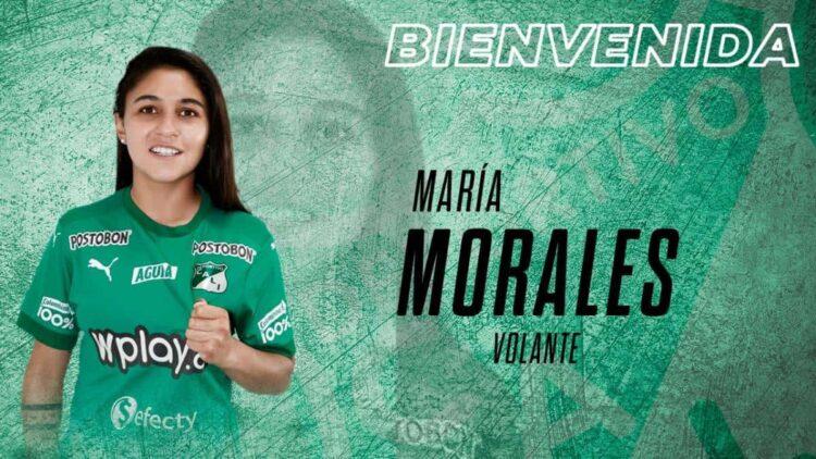 Deportivo Cali Femenino: María Morales llega como refuerzo